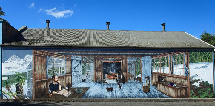 谢菲尔德壁画小镇旅游图片