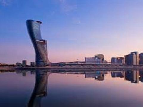 首都之门旅游景点图片