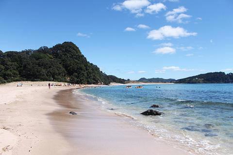 热水海滩的图片