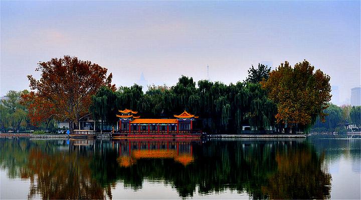 大明湖旅游图片