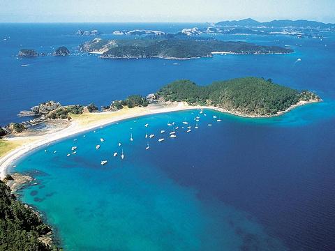 岛屿湾旅游景点图片