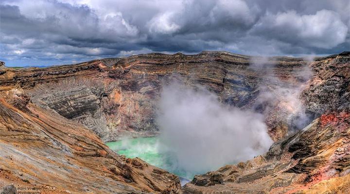 阿苏火山旅游图片