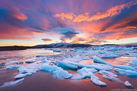 瓦特纳冰川国家公园旅游图片