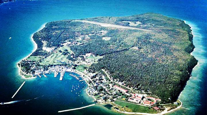 麦基诺岛旅游图片