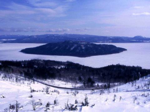 屈斜路湖旅游景点图片