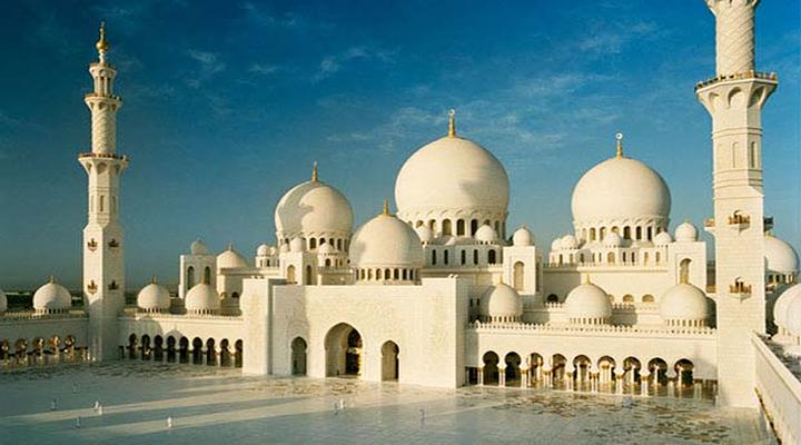 阿布扎比大清真寺旅游图片