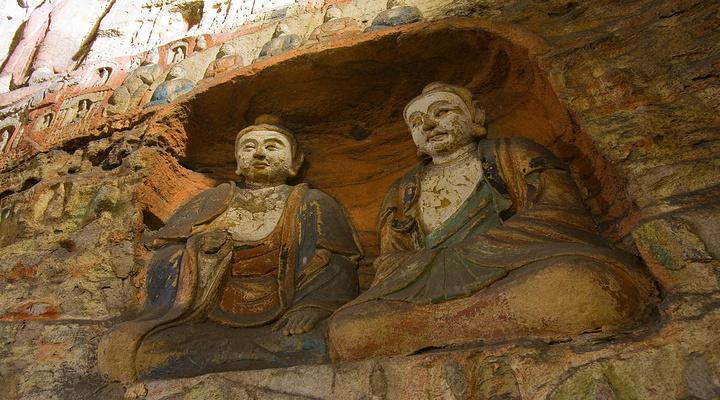云冈石窟旅游图片