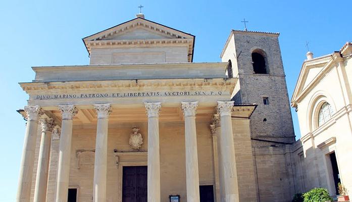 圣马力诺大教堂旅游图片
