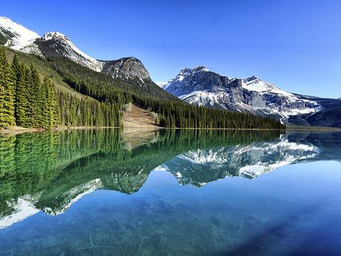 翡翠湖旅游景点图片