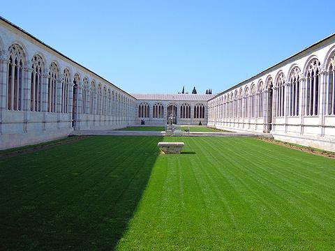 比萨公墓旅游景点图片