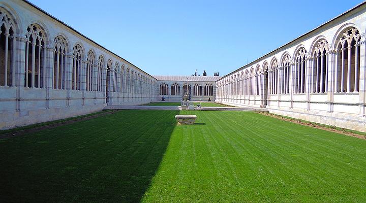 比萨公墓旅游图片