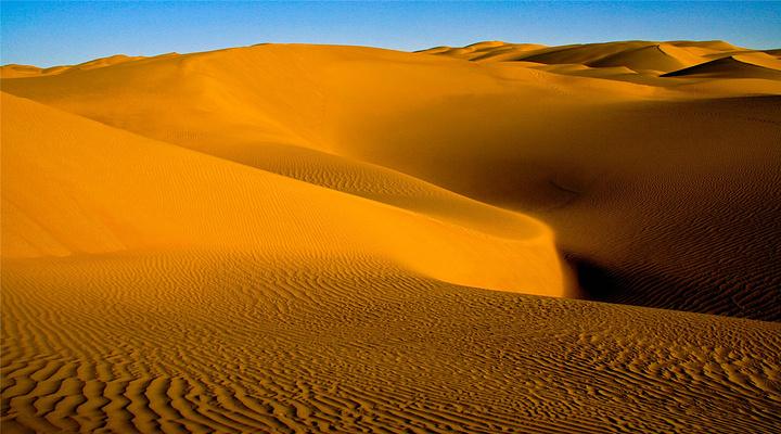 塔克拉玛干沙漠旅游图片