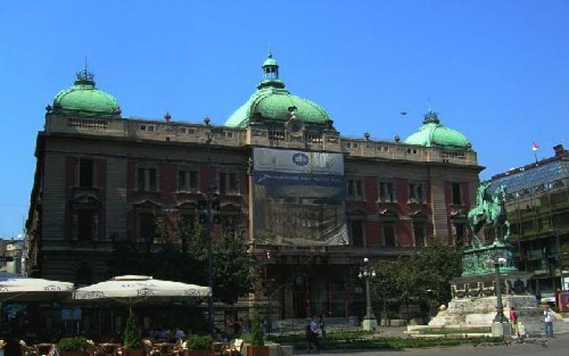 塞尔维亚国家博物馆旅游图片