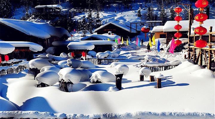 雪乡旅游图片