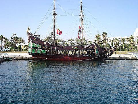 码头旅游景点图片