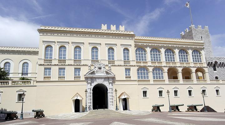 摩纳哥王宫广场旅游图片