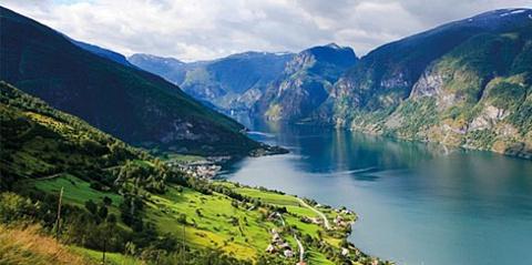 挪威峡湾旅游图片
