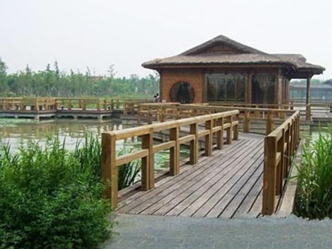 渤公岛生态公园旅游景点图片