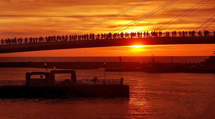 淡水渔人码头旅游图片