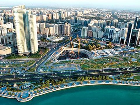 阿布扎比滨海大道旅游景点图片