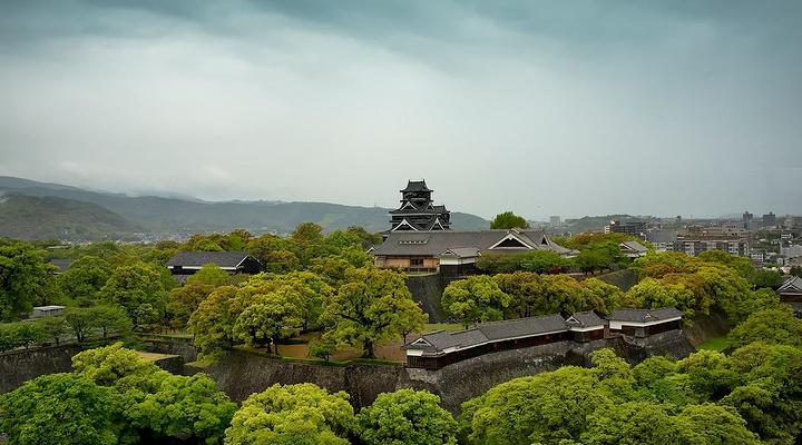 熊本城旅游图片