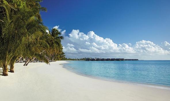 三月,初见,碧海蓝天和Galaxy——马尔代夫奥臻岛