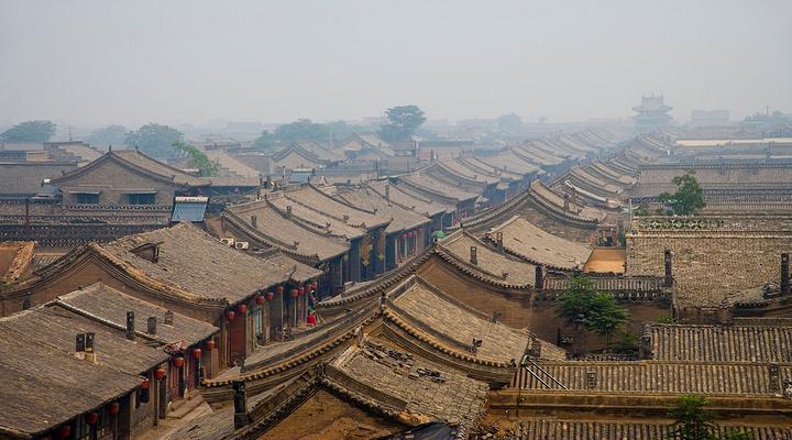 平遥古城旅游图片