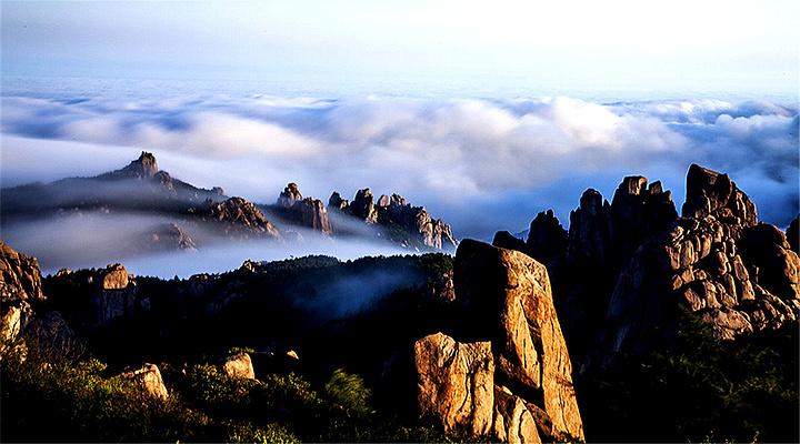 崂山旅游图片
