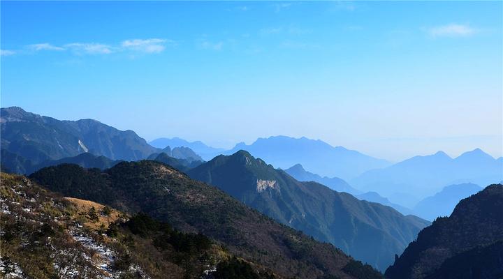 神农顶旅游图片