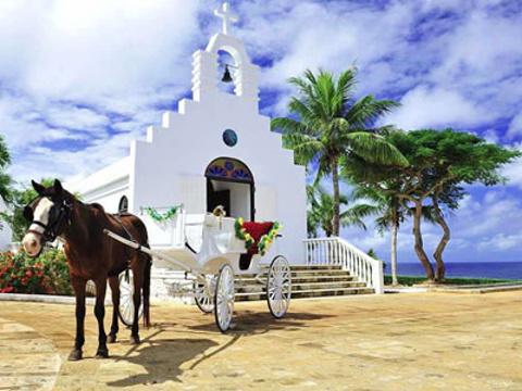 马里亚纳海滨教堂旅游景点图片