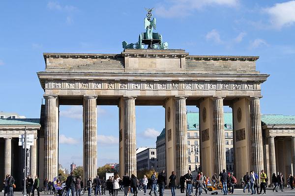 勃兰登堡门旅游图片