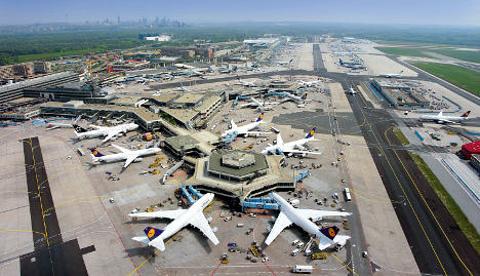 法兰克福机场的图片