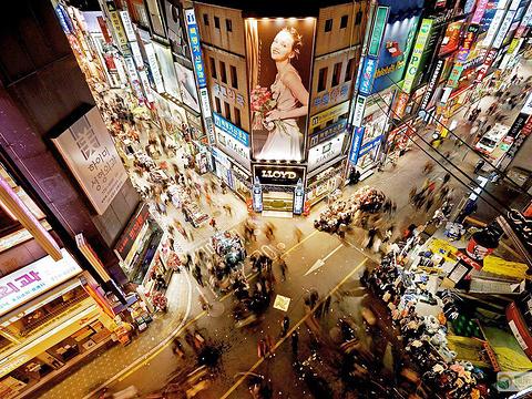弘大购物区旅游景点图片