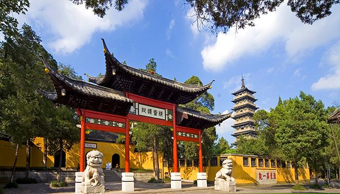 瘦西湖畔大明寺旅游图片