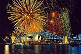 悉尼新年烟火表演