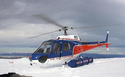 南部冰川直升机飞行体验