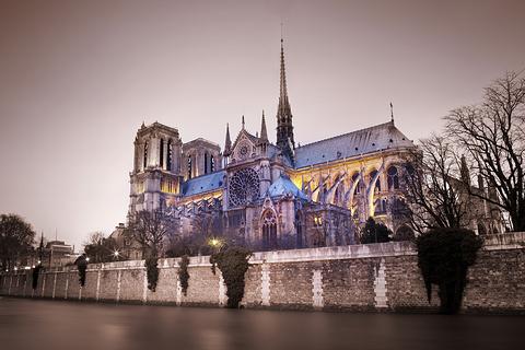 巴黎圣母院的图片