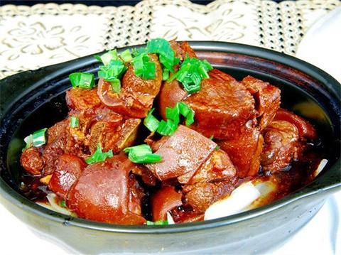 乌镇红烧羊肉