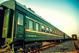 绿皮小火车