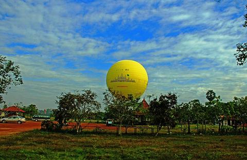 吴哥窟热气球