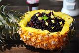 菠萝紫米饭