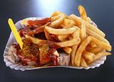 咖喱香肠和土耳其烤肉