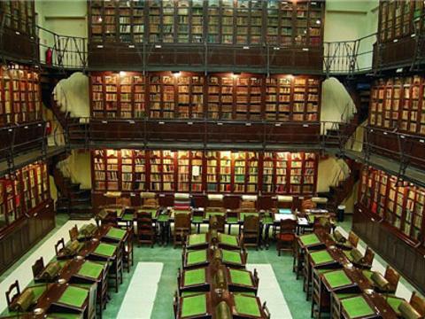 西班牙国家图书馆旅游景点图片