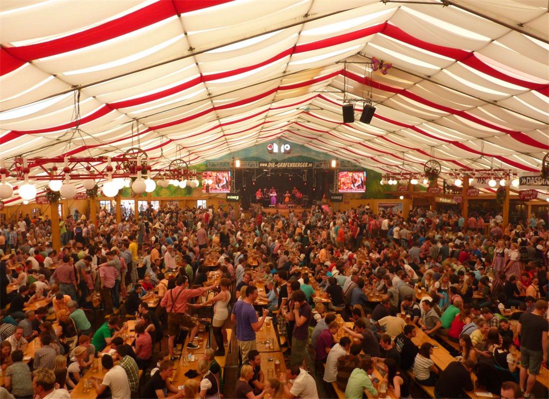 慕尼黑春季迷你啤酒节(Frühlingsfest)