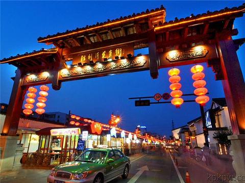 胜利河美食街