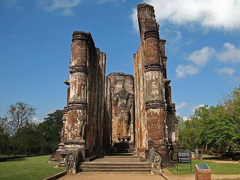 兰卡提拉卡佛殿旅游景点图片
