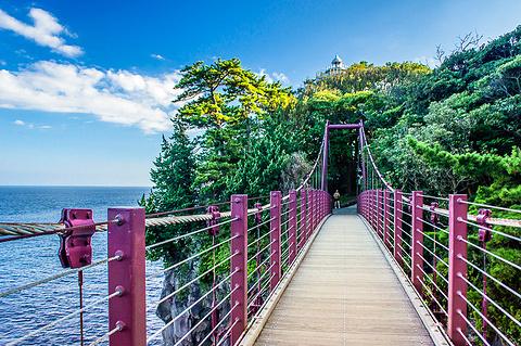 门胁吊桥的图片