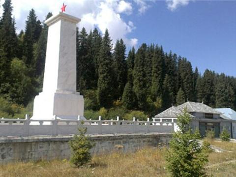 独库公路纪念碑旅游景点图片