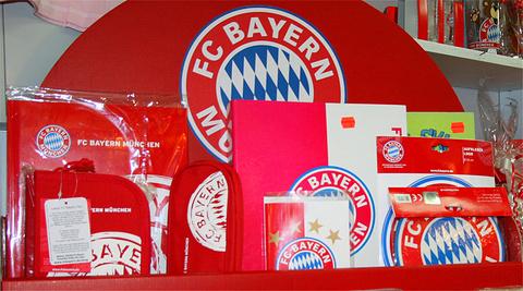拜仁慕尼黑 FC 纪念品