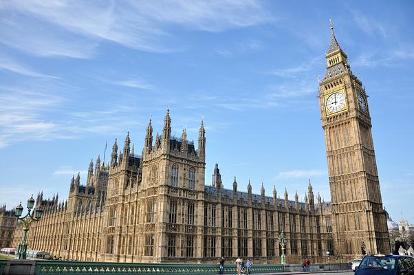 英国国会大厦旅游图片